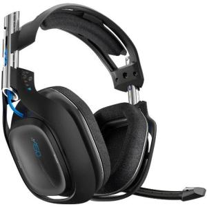 ASTRO Gaming A50 PS4 Wireless Headset 7.1 (Musta) (Käytetty/Toimiva/Cables Missing)
