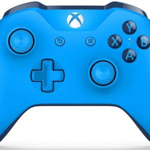 Xbox One: Xbox One Blue Vortex Ohjain - With 3.5mm Stereo Headset Jack (Vaurioitut pakkaus)