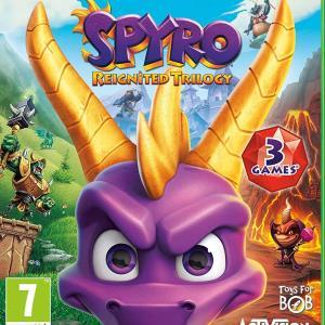 Xbox One: Spyro: Reignited Trilogy (NMC English/Arabic Box)