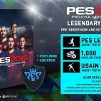 PS4: Pro Evolution Soccer (PES) 2018 - Legendary Edition (English/Arabic Box)