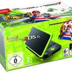 3DS: New Nintendo 2DS XL konsoli - Black and Lime Green with Mario Kart 7 (UK)