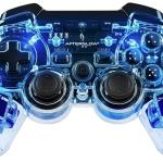 PS3: PDP Afterglow Wireless Ohjain (Blue)