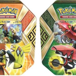 Island Guardians Tin (Summer 2017): Pokemon TCG (CASE of 6 )