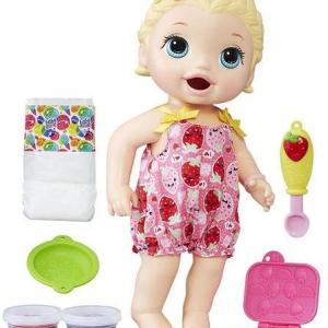 Baby Alive - Snacking Lily Blonde Baby