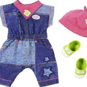 Baby Born - Deluxe Jeans Collection, 2 Assorted