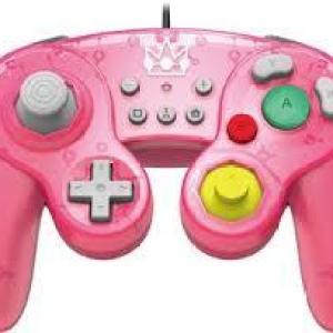 Switch: HORI Super Smash Bros Gamepad - Peach