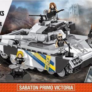 World of Tanks - SABATON PRIMO VICTORIA - 672 Pcs