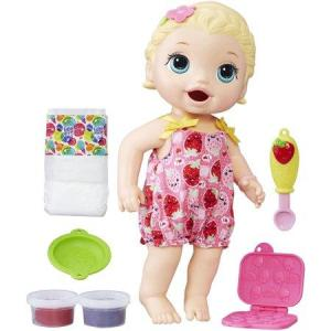 Baby Alive Snacking Lily Blonde Hair