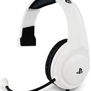 PS4: Officially Licensed PRO4-MONO Gaming Headset (White)