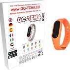 GO-TCHA Coloured Wristband for Pokemon Go (Glumanda Orange) /Accessories