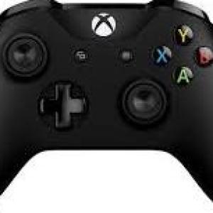 Xbox One: Xbox One  Black Wireless Ohjain (Laatikossa/Käytetty)