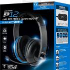 PS4: Turtle Beach Ear Force P12 Amplified Stereo Gaming Headset (Käytetty/NO BOX/SOLUS)