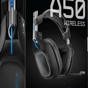 ASTRO Gaming A50 PS4 Wireless Headset 7.1 (Musta)(U/W/B/DP)