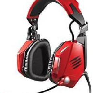 PS3: (F) Mad Catz F.R.E.Q. 5 Headset (Laatikossa/Faulty)