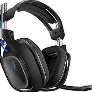 ASTRO Gaming A50 PS4 Wireless Headset 7.1 (Musta)(Käytetty/NO OPTICAL CABLE/NO STAND)