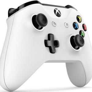 Xbox One: Xbox One Crete White Ohjain Wireless - With 3.5mm Stereo Headset Jack(Käytetty)