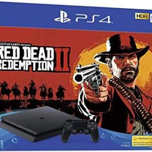 PS4: Playstation 4 konsoli - 500GB (Red Dead Redemption 2) (UK) (Damaged Packaging/Open)