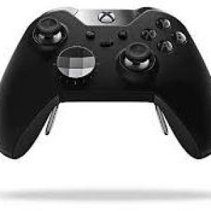 Xbox One: Xbox One ELITE Ohjain Wireless (Musta)(Vaurioitut pakkaus)