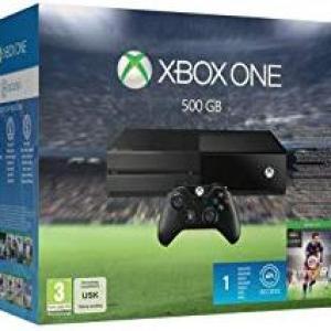 Xbox One: (F) Xbox One 500GB konsoli Inc. Fifa 16 (DLC) (Faulty)