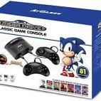 Retro: (F) SEGA Mega Drive Classic konsoli Inc. Two Wired Ohjains (81 Built-In Games)(Faulty)