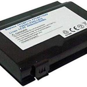 PC: Amsahr  Replacement Battery for FUJITSU BP176 4400 mAh, 14.4 Volts & 8 Cell /Laptop