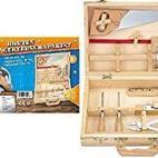 AK Sport Wooden Toolbox