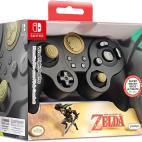 Switch: PDP Nintendo Switch Fight Pad Pro Zelda Link (Musta) Ohjain (EOL)