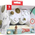 Switch: PDP Nintendo Switch Fight Pad Pro Zelda Link (White) Ohjain