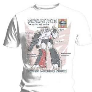 Haynes Manual - Transformers - Megatron - T-Shirt (SMALL)