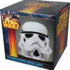 Star Wars Storm Trooper  - 3D Mood Light - White Head - Large 25cm  (UK plug)