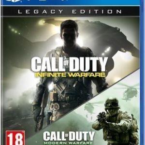 PS4: Call Of Duty: Infinite Warfare (Legacy Edition) - sisältää Modern Warfare remastered-pelin!