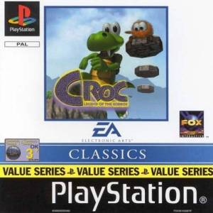 PS1: Croc  Legend Of Gobbos (Classics) (käytetty)