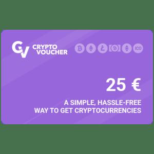 Crypto Voucher 25 € (latauskoodi)