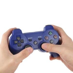PS3: DoubleShock 3 langaton peliohjain (Tumman sininen)
