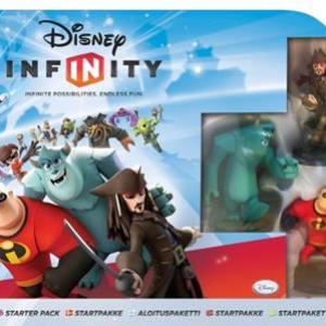 Wii: Disney Infinity Starttipaketti (käytetty)