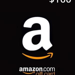 Amazon $100 Gift Card (USA) (latauskoodi)
