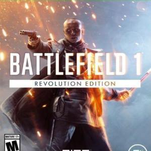 Xbox One: Xbox One: Battlefield 1: Revolution () (latauskoodi)