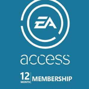 EA Access Pass Code 12 months (latauskoodi)