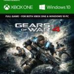 Xbox One: Xbox One: Gears of War 4 ( &amp: Windows 10) (latauskoodi)