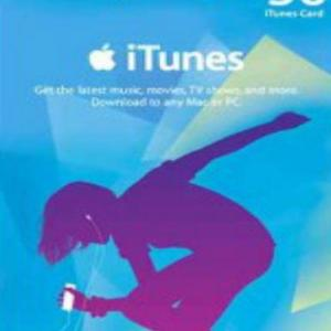 PC: iTunes &pound:50 Gift Card (latauskoodi)