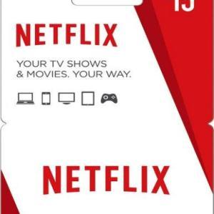 PC: Netflix 15€ Card (latauskoodi)