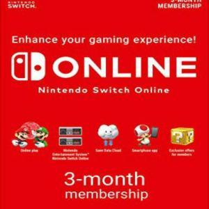 Nintendo Online 3 Month Subscription EU (latauskoodi)