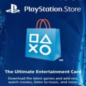 PlayStation Network Card (PSN) 100 $ (USA) (latauskoodi)