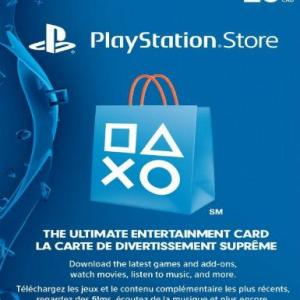 PlayStation Network Card (PSN) 20 CAD (Canada) (latauskoodi)