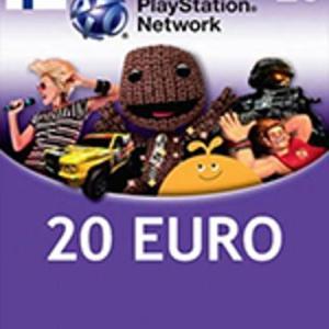 Playstation Network Card (PSN) 20 EUR (Finland) (latauskoodi)