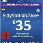 PS4: Playstation Network Card (PSN) 35 EUR (Saksa) (latauskoodi)