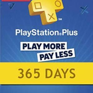 PS4: PlayStation Network Card (PSN) 365 Days (USA) (latauskoodi)