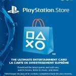 PS4: PlayStation Network Card (PSN) 50 CAD (Canada) (latauskoodi)