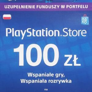 PS4: Playstation Network Card (PSN) 100 PLN (latauskoodi)