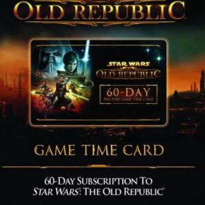 PC: Star Wars: The Old Republic (SWTOR) 60-day Time Card (latauskoodi)
